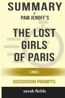 Summary Pam Jenoff S The Lost Girls Of Paris A Novel Discussion Prompts  Book PDF