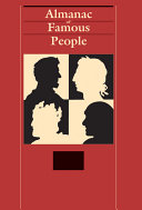 Almanac of Famous People  Indexes PDF