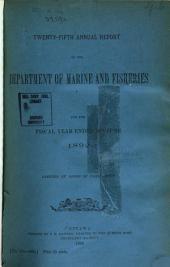 Annual Report: Volume 25