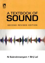 A Textbook Of Sound