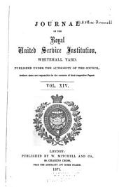 Journal of the Royal United Service Institution: Volume 14