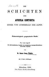 Die Schichten der Avicula contorta inner- und außerhalb der Alpen: palaeontolog.-geognost. Studie