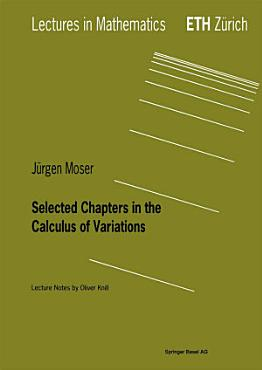 Selected Chapters in the Calculus of Variations PDF