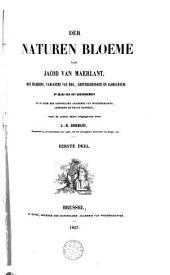 Der naturen bloemen: met inleiding, varianten van Hss., aanteekeningen en glossarium, Volume 1
