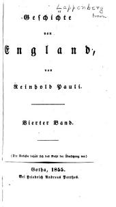 Geschichte von England: Band 4