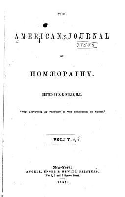 The American Journal of Homoeopathy PDF