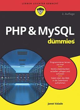 PHP and MySQL f  r Dummies PDF