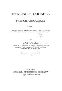 English Pharisees  French Crocodiles PDF