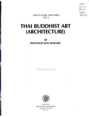 Thai Buddhist Art (architecture)