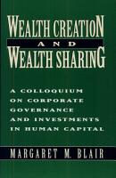 Wealth Creation and Wealth Sharing PDF