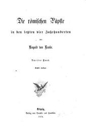 Leopold von Ranke's Sämmtliche Werke: Band 38