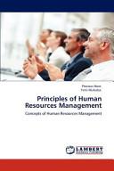 Principles of Human Resources Management