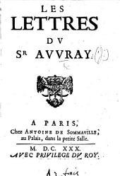 Les Lettres du Sr Auvray
