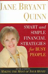 Smart And Simple Financial Strategies For Busy People Book PDF