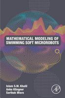 Mathematical Modeling of Swimming Soft Microrobots PDF