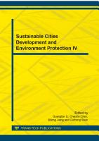 Sustainable Cities Development and Environment Protection IV PDF