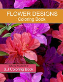 Flower Designs Coloring Book
