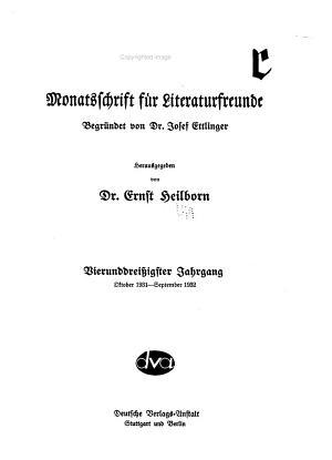 Die Literatur PDF