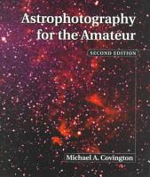 Astrophotography for the Amateur PDF