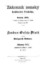 Landes Gesetzblatt f  r das K  nigreich B  hmen PDF