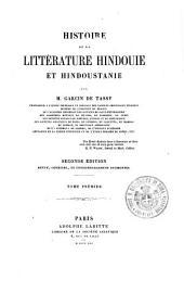 Histoire de la litterature hindouie et et hindoustanie: 1