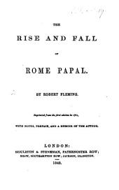A discourse on the rise and fall of Papacy ... Sixth edition