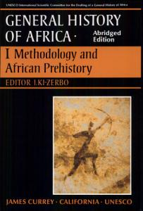 UNESCO General History of Africa  Vol  I  Abridged Edition PDF