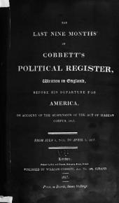 Cobbett's Political Register: Volume 31