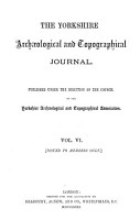 Yorkshire Archaeological Journal PDF