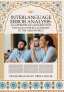 Interlanguage Error Analysis PDF