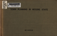 Town Planning in Mysore State PDF