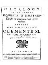 Ordinum equestrium et militarium catalogus [...].