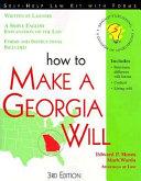 How to Make a Georgia Will