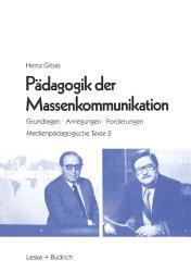 P  dagogik der Massenkommunikation PDF