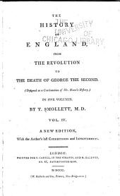 The History of England: From the Revolution in 1688 to the Death of George the Second : (designed as a Continution of Mr. Hume's History)
