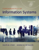 Fundamentals of Information Systems PDF