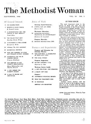 The Methodist Woman PDF