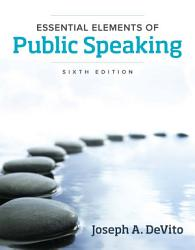 Essential Elements of Public Speaking,