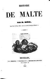 Histoire de Malte: Volume2