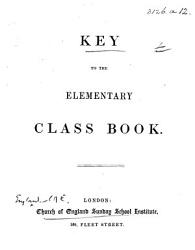 Key To The Elementary Class Book Book PDF