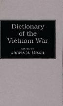 Dictionary of the Vietnam War PDF