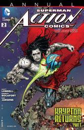 Action Comics Annual (2012-) #2