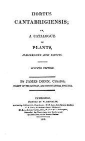 Hortus Cantabrigiensis