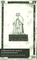 A Manual for the Study of Monumental Brasses PDF