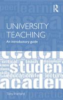 University Teaching PDF