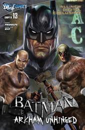 Batman: Arkham Unhinged #13