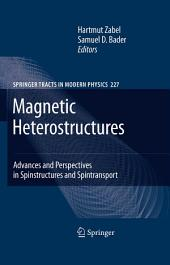 Magnetic Heterostructures: Advances and Perspectives in Spinstructures and Spintransport