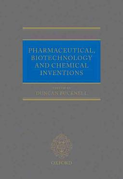 Pharmaceutical  Biotechnology  and Chemical Inventions PDF