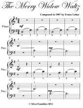 Merry Widow Waltz Beginner Piano Sheet Music