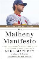 The Matheny Manifesto PDF